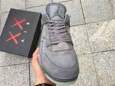 """35cd870e9dfd KAWS x Air Jordan 4 """"Cool Grey"""" Price   195.99 size  (US8"""