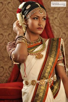South Indian Bridal Looks more inspiration @ http://www.ModernRani.com