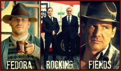 Tom Hardy Harrison Ford Rocking the Fedora like a Boss