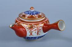 Age: Post-1940 Arabesque, Tea Pots, Japanese, Age, Antiques, Tableware, Flowers, Painting, Antiquities