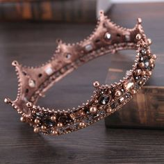Baroque Fashion Vintage Big Round Crowns for Women Men Hair Jewelry Bridal Pageant Tiara Wedding Hair Accessories Free Weeks DeliveryShips Worldwide Crown Aesthetic, Queen Aesthetic, Princess Aesthetic, Crystal Crown, Crystal Rhinestone, Black Rhinestone, Clear Crystal, Rhinestone Wedding, Crystal Wedding