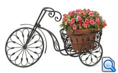 Plant basket: x Plant Stands Indoor, Bonsai Plant Stand Black, Contemporary Bicycle Plant Stand. Best choice of patio plant stand indoor presents this bicycle corner plant stands indoor. add a parisian touch to your patio and garden area. Wheelbarrow Planter, Planter Pots, Barrel Planter, Glass Planter, Plastic Planter, Garden Planters, Outdoor Plants, Outdoor Decor, Outdoor Living