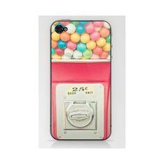 I Phone Cases via Polyvore cuz I love gumballs!