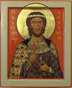 Αγ.Αλεξανδρος «νιεφσκι» (1220 - 1263)   _ nov 23     ( by Olga Shalamova. 2009
