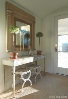 Tone on Tone: Small Spaces in Our Home