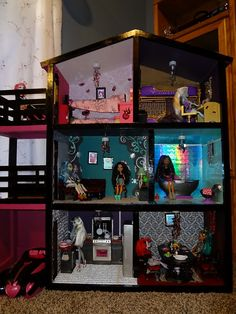 Monster High House- I would gladly drop $100 on a doll house for my 11 year old!!! Why?? Because she's playing with dolls not boys LOL