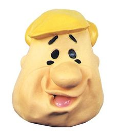 Barney Rubble Latex Halloween Mask * Read more reviews of the product by visiting the link on the image.