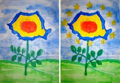 Diy And Crafts, Crafts For Kids, Arts And Crafts, Paper Crafts, Romanian Flag, Teaching Kindergarten, 1 Decembrie, Easy Paintings, Spring Crafts