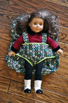 baby backpack- perfect for american girl doll