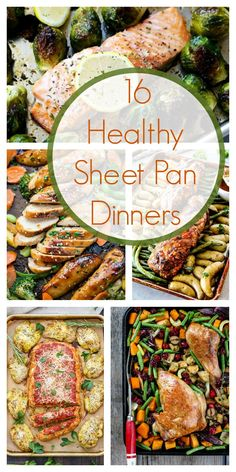 Healthy Meals For Kids 16 Healthy Sheet Pan Dinners - We have all experienced those busy nights when dinner has to happen FAST. Healthy Sheet Pan Dinners give your family a balanced dinner with minimal prep! Healthy Dinner Recipes, Cooking Recipes, Heart Healthy Meals, Healthy Suppers, Quick Easy Healthy Dinner, Healthy Supper Ideas, Health Recipes, Heart Healthy Dinner, Heart Healthy Crockpot Recipes