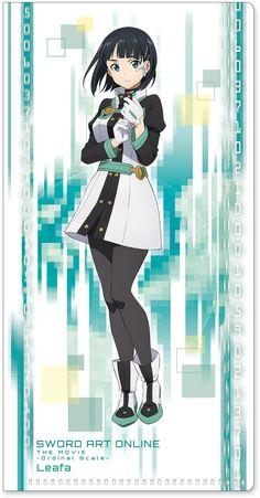 Leafa   Sword Art Online -Ordinal Scale-   Anime Movie   Ticket Clear File