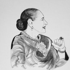 HELENA RUBINSTEIN - Beauty Brand Pioneer Illustration Allan Goddard