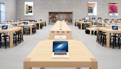 Apple c'est trop beau et puissant, dans un magasin pour PC on aurait déjà vu pleins d'affiches et d'étiquettes flash fluo