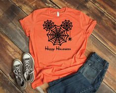 ae1ddd294 Mickey Spider Web - Magical Vacation Tee - Adult and Youth sizes by  ToodleBugsBoutique13 on Etsy