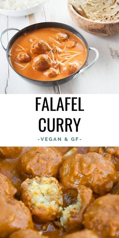 Vegan Falafel Curry – We all love falafel and we all love curries, so why not co… Vegan Falafel Curry – We all love falafel and all the curries, so why not combine them ? This vegan falafel curry is a creamy dream come true! Vegan Indian Recipes, Vegetarian Recipes, Healthy Recipes, Vegan Indian Food, Vegan Food, Ethnic Recipes, Whole Food Recipes, Cooking Recipes, Vegan Dishes