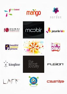 fabulous pictures: Colorful, creative logo designs from Alex Tass / Nocturn