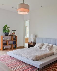 Make the most of every space with these lighting tricks Mid Century Modern Bedroom, Your Space, Mid-century Modern, Lighting, Furniture, Home Decor, Light Fixtures, Lights, Interior Design