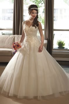 Cinderella wedding dress, Marys Bridal Style 6205 | Wedding Planning, Ideas & Etiquette | Bridal Guide Magazine