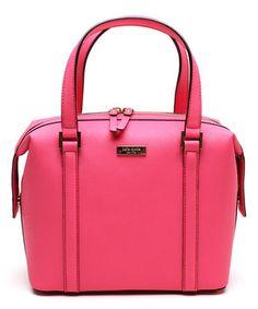 Look what I found on #zulily! Kate Spade Bazooka Pink Newbury Lane Alysia Leather Satchel by Kate Spade #zulilyfinds