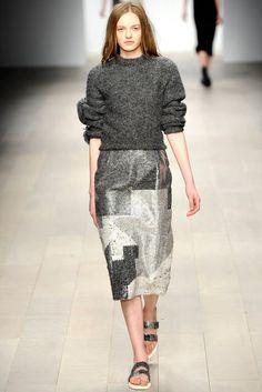 Central Saint Martins — Erna Einarsdóttir | Fall 2012 Ready-to-Wear Collection | Vogue Runway