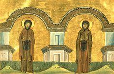 Преподобные Марина и Кира