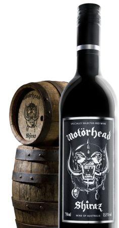 Motorhead wine