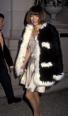 Anna Wintour at the Met Gala, 1994.