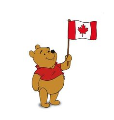 Without Canada, there would be no Winnie the Pooh. The Canadian soldier who donated him to the London zoo named him Winnie, after his hometown, Winnipeg. Canadian Things, I Am Canadian, Canadian History, Canadian Symbols, Canadian Flags, Canadian Bacon, All About Canada, Happy Canada Day, Canada 150
