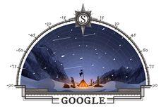 Google recuerda al explorador noruego, el último de los vikingos, que superó en la carrera a su rival, el británico Robert Scott