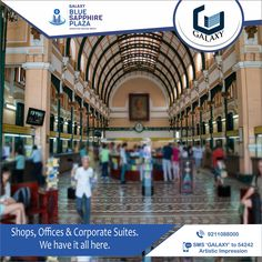 Some landmarks are Significant. OF COURSE, we are building the ONE.  #TheGalaxyGroup  #GalaxyBlueSapphirePlaza   #Commericial   #GreaterNoida Blue Sapphire, Street View, Building, Travel, Viajes, Buildings, Destinations, Traveling, Trips
