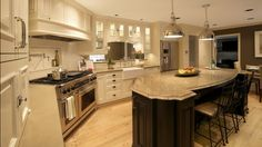 Cambria's Aragon palette showcased in this spectacular kitchen