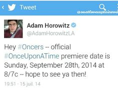 OUAT. Once Upon A Time fans rejoice!!!!