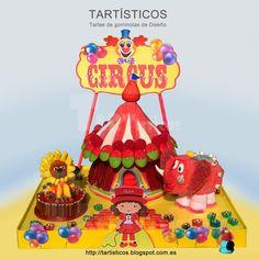 Circo de Gominolas Candy Cakes, Chocolate, Presents, Birthday Cake, Desserts, Buffets, Food, Ideas, Caramel Mud Cake