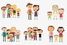 Cartoon padre, La Crianza De Los Hijos, Familia, Cartoon Imagen PNG