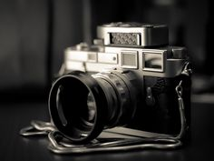 Leica M3 with 50mm lens and Leicameter