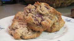 Almond meal choc chip cookies