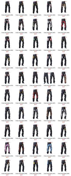 Evisu jeans men page 1