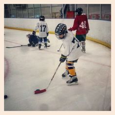 Lucas looking good at hockey practice 10-12-15. Love you to pieces❤❤❤