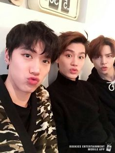 Ten, Taeil and Johnny