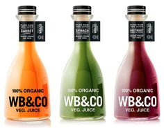 WB Veg Juice #bottle #packaging