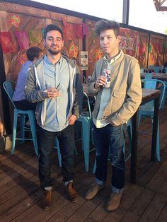 After work drinks @ Rattle Inn #twins