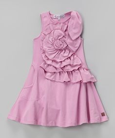 Look at this Party Pink Emma Dress - Toddler  Girls on #zulily today!