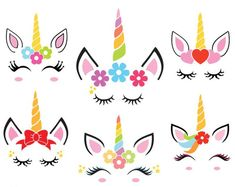 Unicorn svg unicorn face svg unicorn head svg unicorn clipart vector dxf jpg png silhouette cut files cricut cute unicorn face svg t shirt Unicorn Rooms, Unicorn Head, Cute Unicorn, Unicorn T Shirt, Unicorn Eyes, Diy And Crafts, Arts And Crafts, Unicorn Crafts, Unicorn Birthday Parties