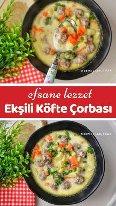 Turkish Recipes, Italian Recipes, Fish And Meat, Fresh Fruits And Vegetables, French Pastries, Iftar, Breakfast Recipes, Food And Drink, Soup