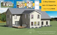 two story addition plans with estimated building costs this is 2