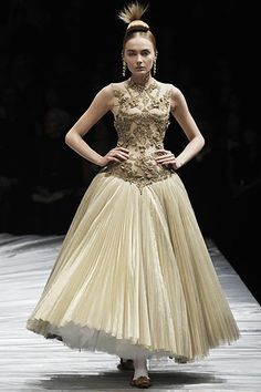 """From one of my favorite collections, """"The Girl Who Lived in the Tree."""" (Alexander McQueen, Fall RTW 2008)"""