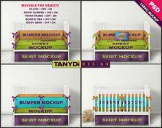 Crib Bedding Photoshop Fabric Mockup 4CBS1 Bumper Sheet
