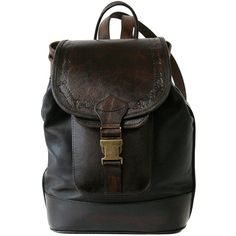Beara Beara - Mya Backpack Black (€165) ❤ liked on Polyvore