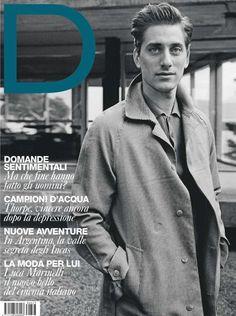 Luca Marinelli - D La Repubblica Magazine Cover [Italy] (January 2013)
