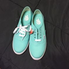 Vans Classics Vans Classic in Mint(SeaFoam) Vans Shoes Athletic Shoes